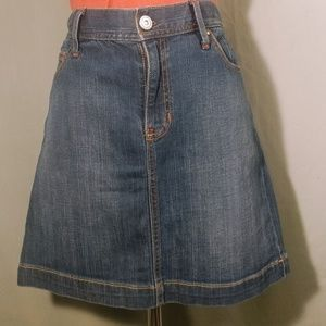 Gap Denim Stretch Pencil Skirt